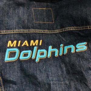 Levi's Jackets & Coats - Levi's Miami Dolphins NFL Women's Jacket Medium
